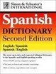 Cover of Simon & Schuster's International Spanish Dictionary