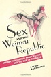 Cover of Sex and the Weimar Republic