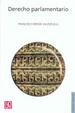 Cover of Derecho parlamentario