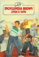 Cover of Encyclopedia Brown Lends a Hand