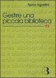 Cover of Gestire una piccola biblioteca