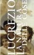 Cover of La natura delle cose