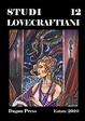 Cover of Studi lovecraftiani - Estate 2010 - Vol. 12