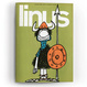 Cover of Linus: anno 4, n. 9, settembre 1968