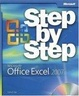 Cover of Microsoft  Office Excel  2007 Step by Step