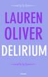 Cover of Delirium