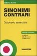 Cover of Nuovo dizionario dei sinonimi e dei contrari