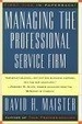 Cover of Managing The Professional Service Firm