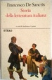 Cover of Storia della letteratura italiana