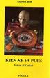 Cover of Rien ne va plus
