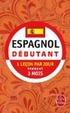 Cover of Espagnol débutant
