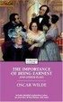 Cover of The Importance of Being Earnest and Other Plays