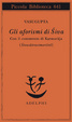 Cover of Gli aforismi di Śiva