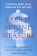 Cover of Profit Beyond Measure