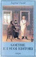 Cover of Goethe e i suoi editori