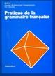 Cover of Pratique de la grammaire française