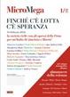 Cover of MicroMega 1/2012 - Finché c'è lotta c'è speranza