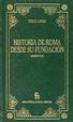 Cover of Historia de Roma desde su fundación