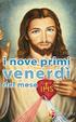 Cover of I nove primi venerdì del mese