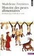 Cover of Histoire des peurs alimentaires