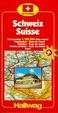 Cover of Hallwag Strassenatlanten, Schweiz, CH Touring