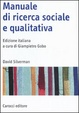 Cover of Manuale di ricerca sociale e qualitativa