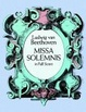 Cover of Missa Solemnis in Full Score
