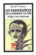 Cover of Lo fantastico en la literatura y el cine