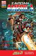 Cover of Capitan America #10 Marvel Now!