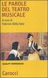 Cover of Le parole del teatro musicale