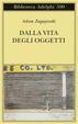 Cover of Dalla vita degli oggetti