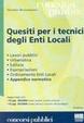 Cover of Quesiti per i tecnici degli enti locali