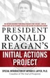 Cover of President Ronald Reagan's Initial Actions Project