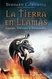 Cover of La tierra en llamas