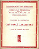 Cover of Così parlò Zaratustra