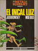 Cover of El incal luz