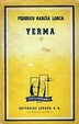 Cover of Yerma