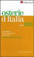 Cover of Osterie d'Italia 2013. Sussidiario del mangiarbere all'italiana