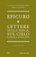 Cover of Lettere sulla fisica, sul cielo e sulla felicità