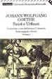 Cover of Faust e Urfaust - Volume I