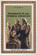 Cover of Frammenti di una religione universale