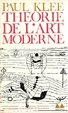 Cover of Theorie de l'art moderne