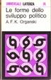 Cover of Le forme dello sviluppo politico