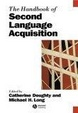 Cover of Handbook of Second Language Acquisition
