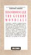 Cover of I morti: discorso sulle tre guerre mondiali