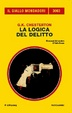 Cover of La logica del delitto