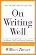 Cover of On Writing Well, 25th Anniversary