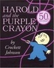 Cover of Harold and the Purple Crayon 50th Anniversary Edition