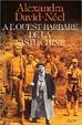 Cover of À l'Ouest barbare de la vaste Chine