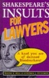 Cover of Shakespeare's Insults for Lawyers